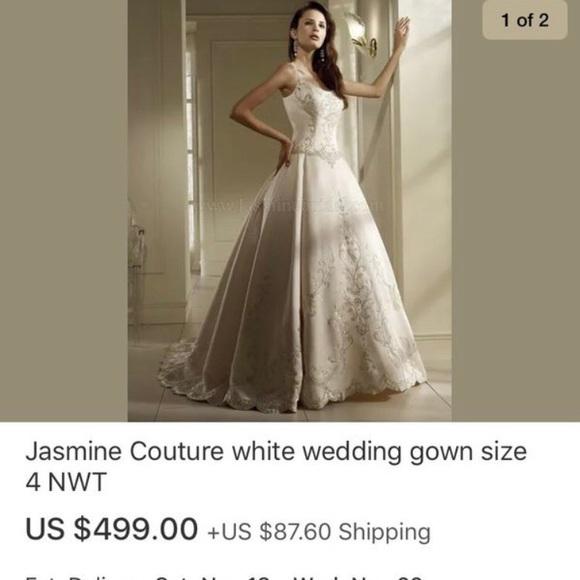 Jasmine Dresses & Skirts - Wedding dress wedding gown. New never worn
